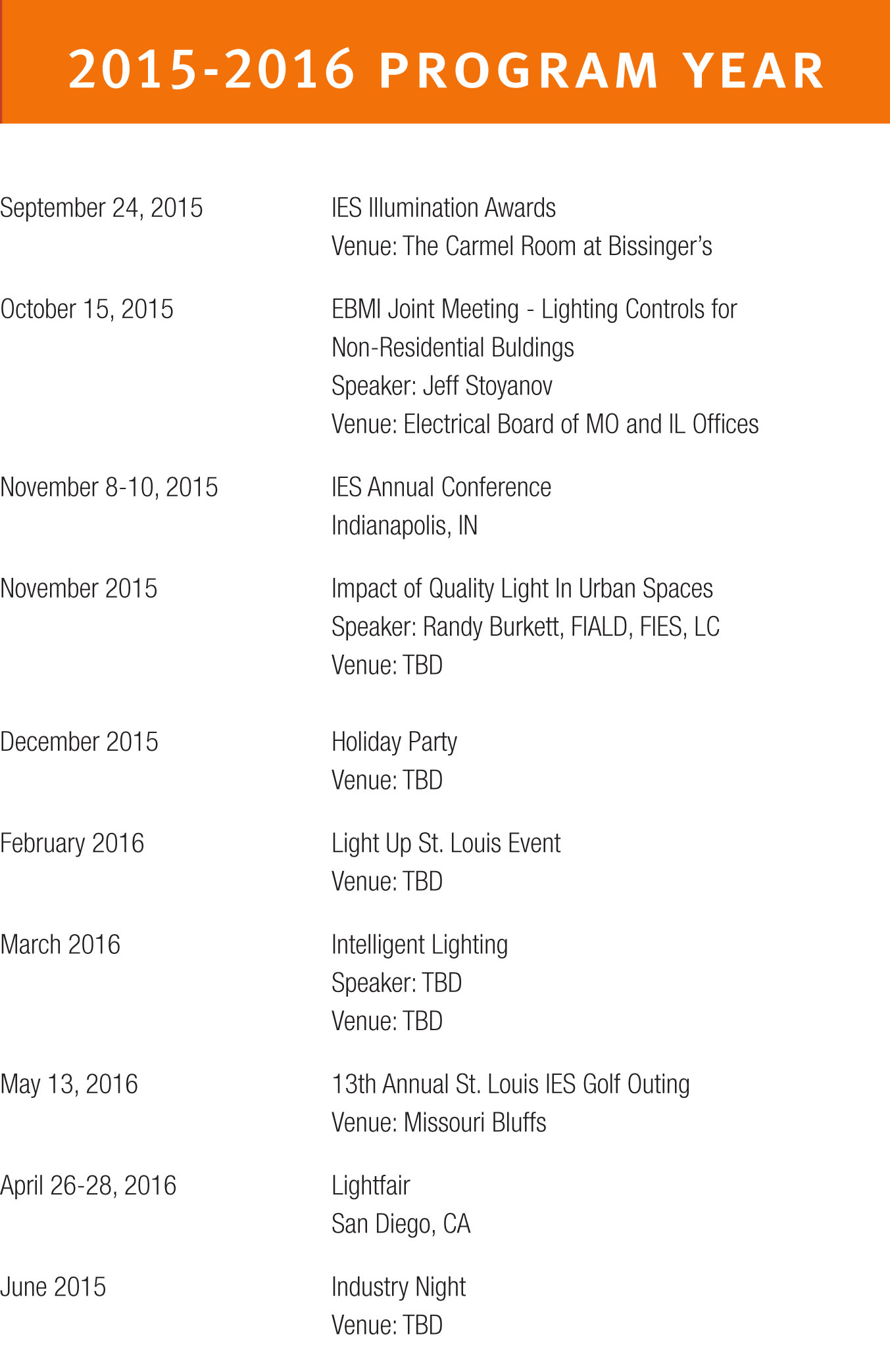 2015-09-11_IESAwards2015-14 SCHEDULE